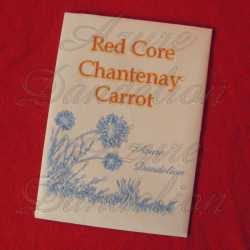 Red Core Chantenay Carrot Seeds